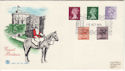 1979-10-10 Definitive issue + 10p PCP Windsor FDC (50221)