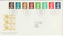 1988-08-23 Definitive Stamps Windsor FDC (50308)