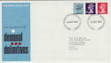 1973-10-24 Definitive Stamps Bureau FDC (50351)