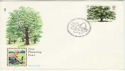 1973-02-28 Trees Stampex 73 London SW1 FDC (50397)