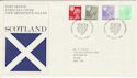 1982-02-24 Scotland Definitive Pre Dated 1980 Error FDC (50437)