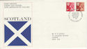 1976-10-20 Scotland Definitive Edinburgh FDC (50504)