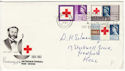 1963-08-15 Red Cross Phos London Slogan FDC (50656)