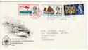1963-05-31 Lifeboat Edinburgh Conference Slogan FDC (50661)