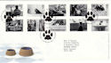 2001-02-13 Cats and Dogs Petts Wood FDC (50741)