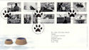 2001-02-13 Cats and Dogs Bureau FDC (50742)