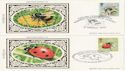 1985-03-12 Insects Benham x5 FDC (50745)