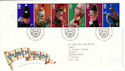 2001-09-04 Punch and Judy T/House FDC (50763)