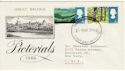 1966-05-02 Landscapes part set Harrow FDC (50787)