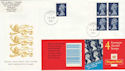 1999-01-19 Bklt HF1 E Stamps Windsor FDC (50866)
