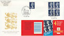 1999-01-19 Bklt HF1 E Stamps Windsor FDC (50867)