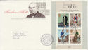 1979-10-24 Rowland Hill M/Sheet London EC FDC (50899)