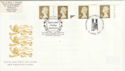 1997-04-21 Gold Definitive Doubled London SW1 FDC (50915)