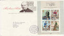 1979-10-24 Rowland Hill M/Sheet London EC FDC (50921)
