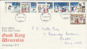 1973-11-28 Christmas Stamps Exeter FDC (51028)