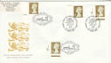 1997-04-21 Gold Definitive Doubled Ballater FDC (51054)