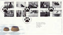 2001-02-13 Cats and Dogs Petts Wood FDC (51089)