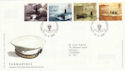 2001-04-10 Submarines Stamps Portsmouth FDC (51091)