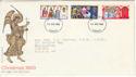 1969-11-26 Christmas Stamps Cardiff FDI (51119)