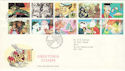 1993-02-02 Greetings Stamps Greetland FDC (51166)