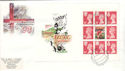 1996-05-14 Football PSB Full Pane Manchester FDC (51227)