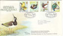 1980-01-16 Birds RSPB Official FDC (51321)