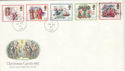 1982-11-19 Christmas Stamps Bath cds + Slogan Souv (51324)