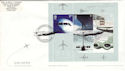 2002-05-02 Airliners M/S Nimrod BF 2676 PS FDC (51350)