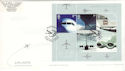 2002-05-02 Airliners M/S Heathrow Airport TW5 FDC (51353)