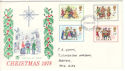 1978-11-22 Christmas Stamps Exeter FDI (51428)