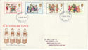1978-11-22 Christmas Stamps Manchester FDI (51429)