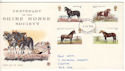 1978-07-05 Horses Stamps Exeter FDI (51430)