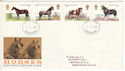 1978-07-05 Horses Stamps Manchester FDI (51431)