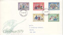 1979-11-21 Christmas Stamps Exeter FDI (51511)