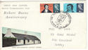 1966-01-25 Robert Burns Edinburgh FDC (51528)