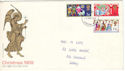 1969-11-26 Christmas Stamps London FDI (51574)