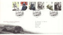 2005-02-24 Jane Eyre Stamps T/House FDC (51705)
