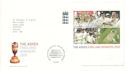 2005-10-06 Cricket The Ashes M/S T/House FDC (51714)