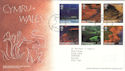 2004-06-15 Wales A British Journey T/House FDC (51729)