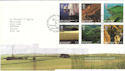 2005-02-08 SW England A British Journey T/House FDC (51735)
