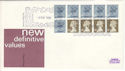 1981-05-06 1.30 Booklet Stamps Windsor FDC (51741)