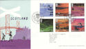 2003-07-15 Scotland A British Journey T/House FDC (51746)