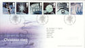 2003-11-04 Christmas Stamps T/House FDC (51750)