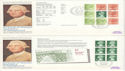 1980-04-16 Wedgwood Booklet Barlaston x4 FDC (51812)