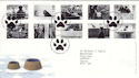 2001-02-13 Cats and Dogs Bureau FDC (51825)