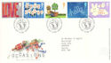 2002-03-05 Occasions Greetings Stamps T/House FDC (51838)