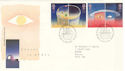 1991-04-23 Europe in Space Stamps Bureau FDC (51931)