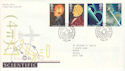 1991-03-05 Scientific Achievements BUREAU FDC (51932)