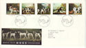 1991-01-08 Dogs Stamps Bureau FDC (51933)