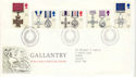 1990-09-11 Gallantry Stamps Bureau FDC (51936)